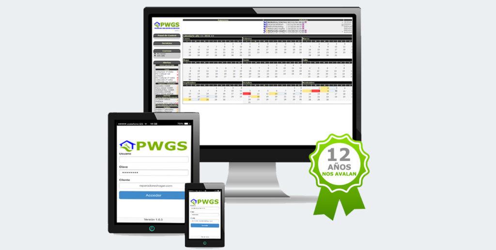 PWGS multiplataforma: software para trabajar para seguros de hogar